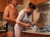busty czech amateur fucking around the house by eliman