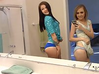 luscious teenage girls are hot lesbians