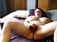 Masturbating and having a great orgasm
