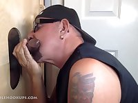 It was a delicious day when this man brought his stiff dick to my gloryhole.